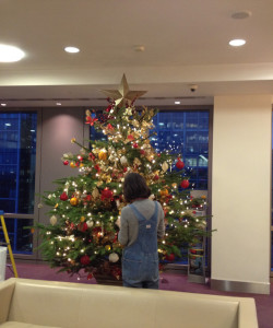 Christmas decoration - London offices